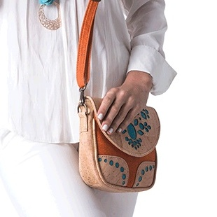 JOYCORK Τσάντα Ώμου/Shoulder Bags από φελλό